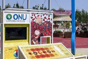 parco bimbi ONU a EXPO