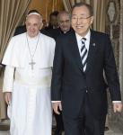 papa Francesco al summit SDG cut